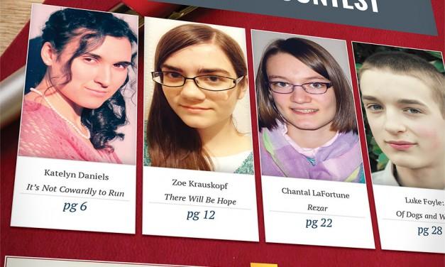 The 2015 Seton High School Short Story Contest
