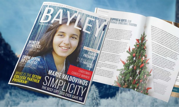 The 2015 Bayley Bulletin Winter Issue: 'Christmas Time is Here'!