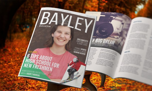 The 2015 Bayley Bulletin Fall Issue: 'New Beginnings'