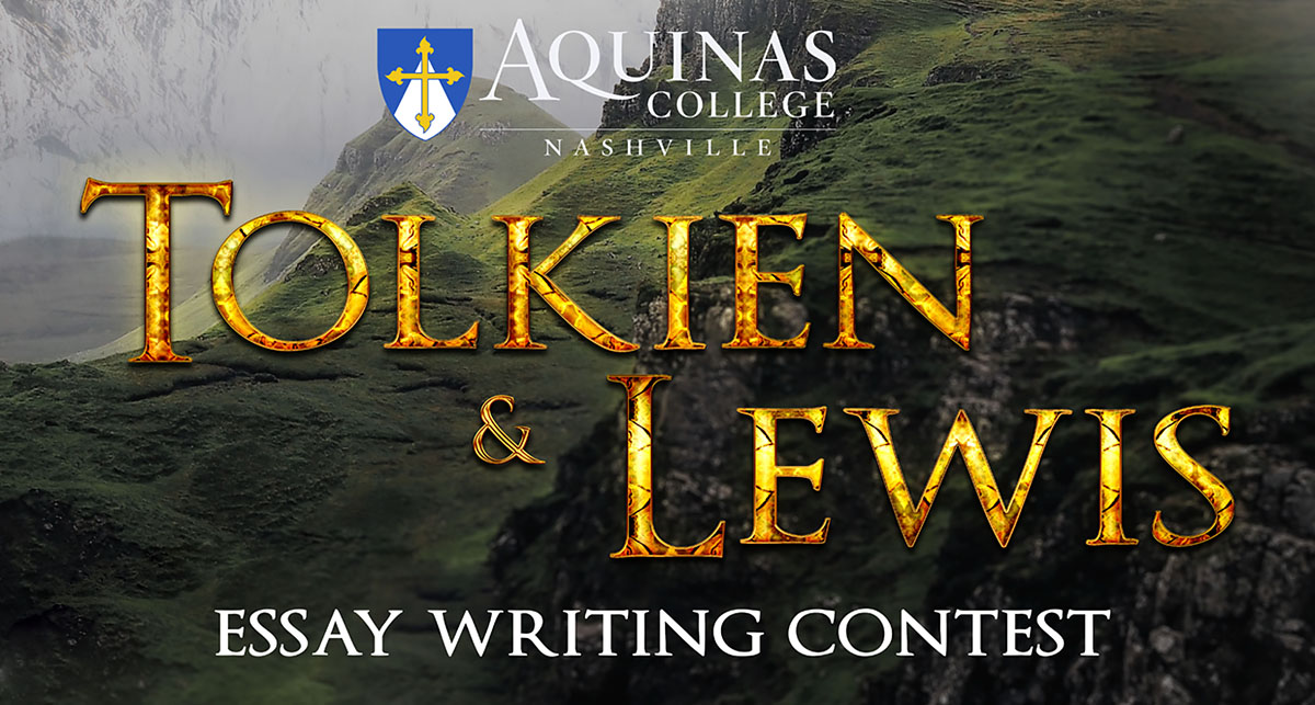 tolkien lewis essay contest sponsored by aquinas college  tolkien lewis essay contest sponsored by aquinas college bayley bulletin