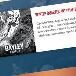 The Seton Winter Quarter Art Challenge