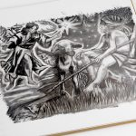 'Basket of Cheer' Art Finalist & Entries: Annunciation  of Angels to Shepherds (Luke 2:8-15)