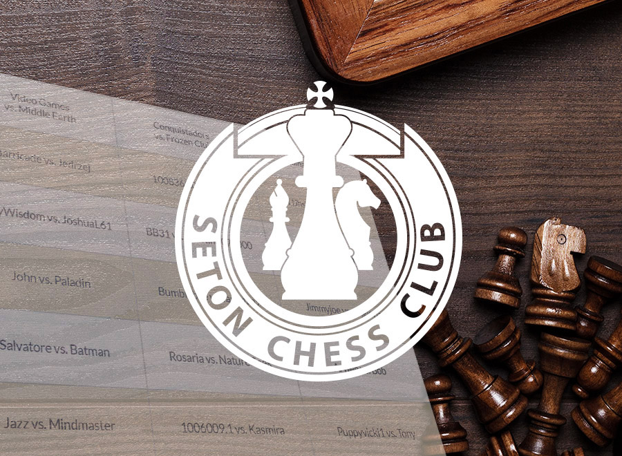 "The Student-Run ""Seton Chess League"" Tournament"