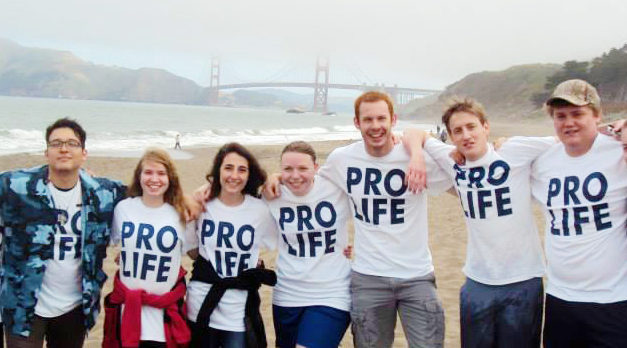Crossroads Pro-Life Alumni Shares How Seton Influenced Him