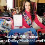 Making a Difference – Rita Earns Dolly Madison Award