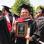 Graduating with Honors – Christopher on to Seminary
